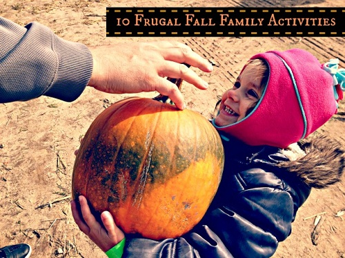 Fall is the perfect time to get outdoors and enjoy time with family as the warm is cooler. You don't need to spend a lot of money to enjoy fall activities. Here's How: