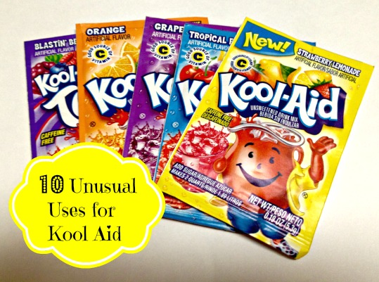 10 Unusual Uses for Kool Aid 10 Unusual Uses for Kool Aid
