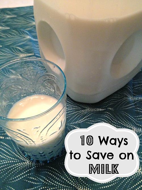 10 Ways to Save on Milk