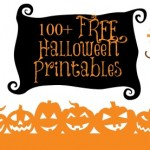 100 Free Halloween Printables