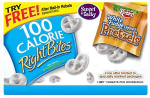 100 calorie rebate promo 300x196 Try Me Free Rebate: Keebler Right Bites