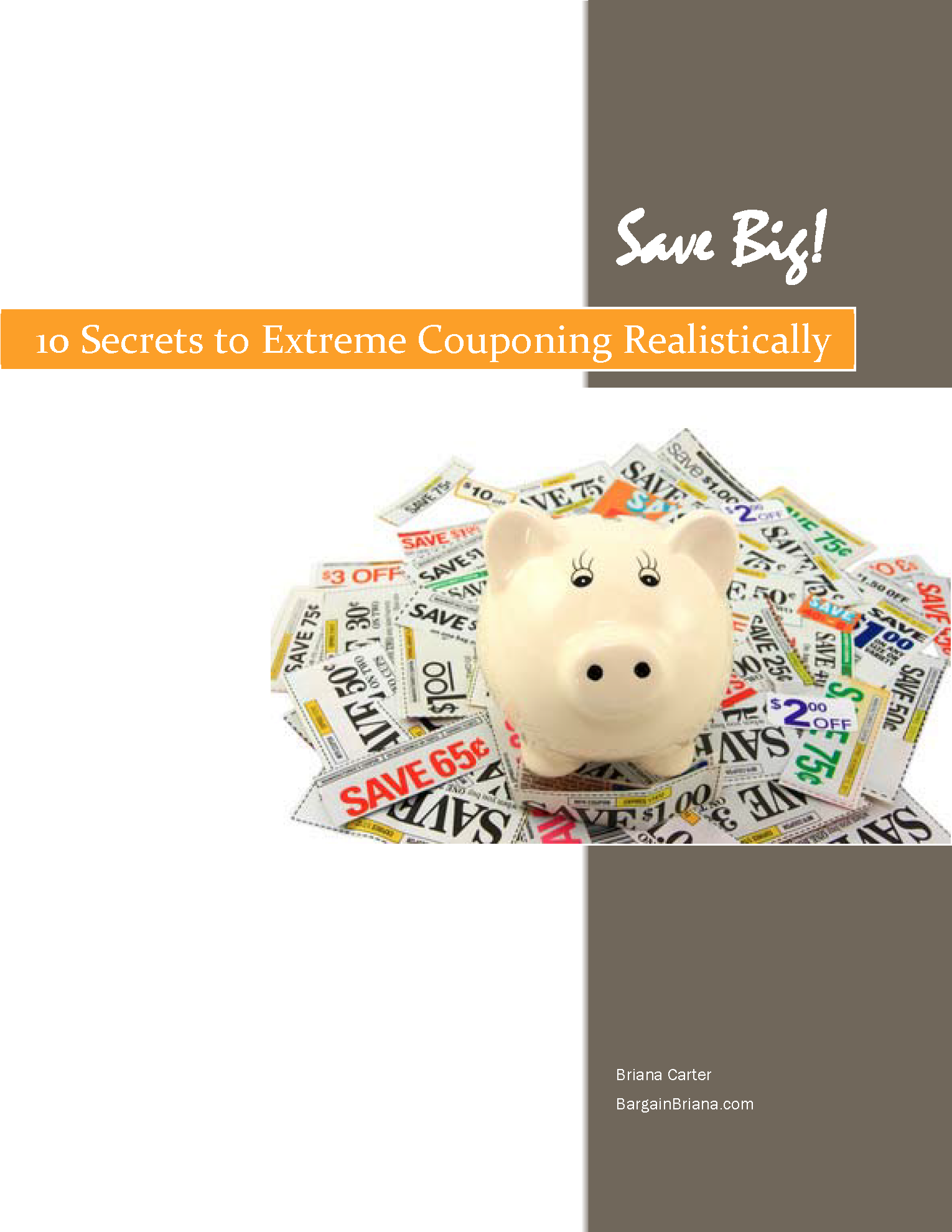 Free ebook 10 secrets to extreme couponing realistically free ebook 10 secrets to extreme couponing realistically bargainbriana fandeluxe Gallery