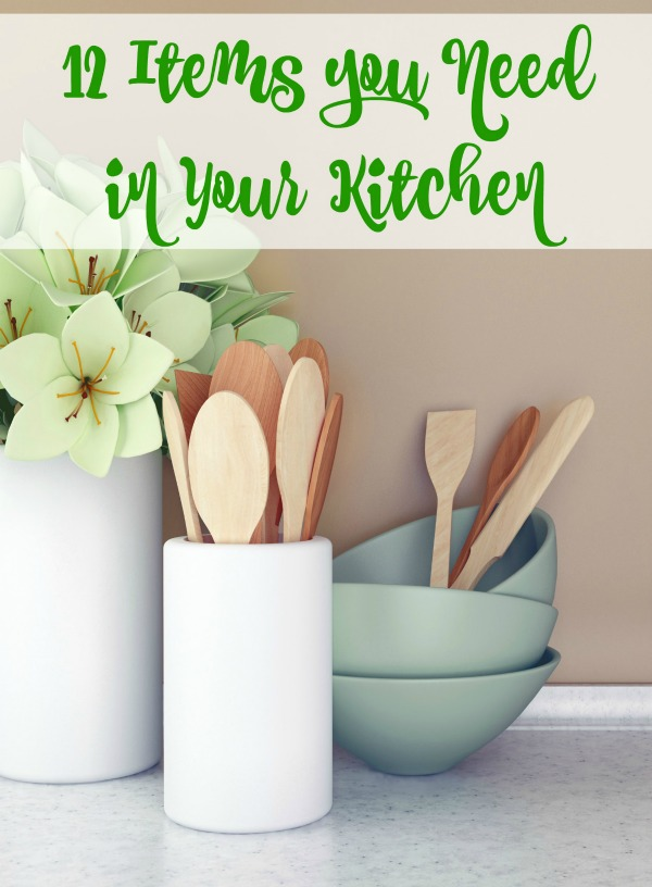 12 Items You Must Have In Your Kitchen