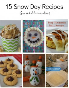 15 Snow Day Recipes