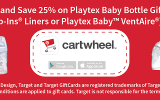 Save 25% on Playtex Baby Bottle Gift Sets on Target
