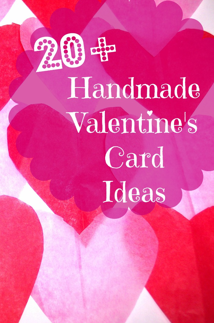 20 Handmade Valentines Day Card Ideas BargainBriana – Hand Made Valentine Day Cards