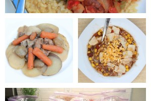 20 Gluten Free Crockpot Freezer Meals from Costco