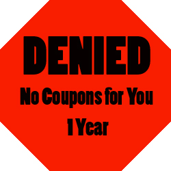 denied coupons 15 Days of Couponing Day 13: How to Handle Coupon Rejection