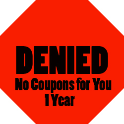 15 Days of Couponing Day 13: How to Handle Coupon Rejection