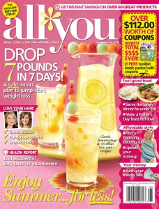 0609news 228x300 ALL YOU Magazine Deal