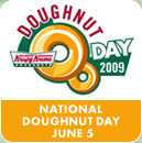 National Donut Day 6/5: Deals at Dunkin' Donuts + Krispy Kreme