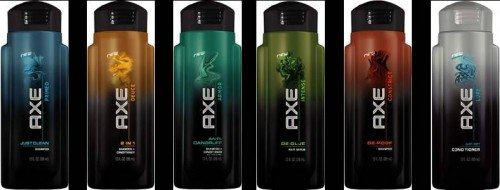 Axe Free Shampoo or Conditioner in Several Magazines