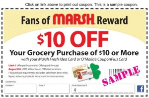 Sample Coupon - Do Not Print