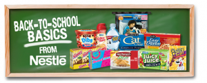 back to school 300x121 NOW CLOSED: Nestlé Back to School Basics $500 Giveaway