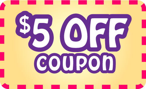 5 discount coupons