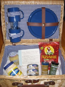 Swanson Giveaway Basket