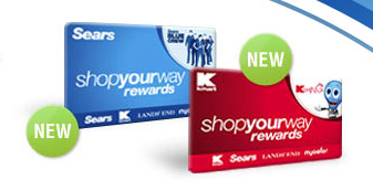 Kmart & Sears New Loyalty Program: Shop Your Way Rewards