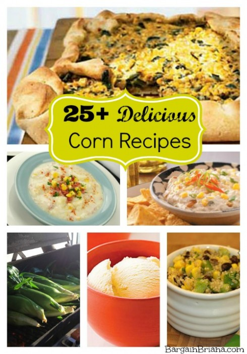 25+ Delicious Corn Recipes