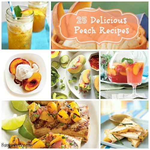 25 Delicious Peach Recipes