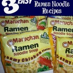 3 Easy Ramen Noodle Recipes
