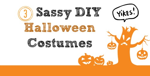 3 Sassy DIY Halloween Costume Ideas
