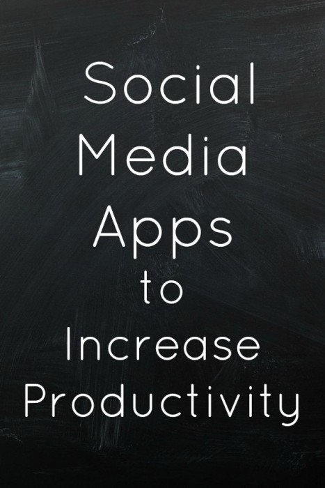 3 Social Media Apps to Increase Productivity