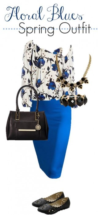3.12 Floral Blues Spring Outfit
