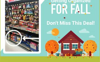 Get Organized for Fall + Save on #ScotchLaminators at Walmart