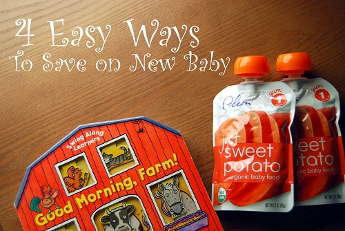 4 Easy Ways to Save on New Baby