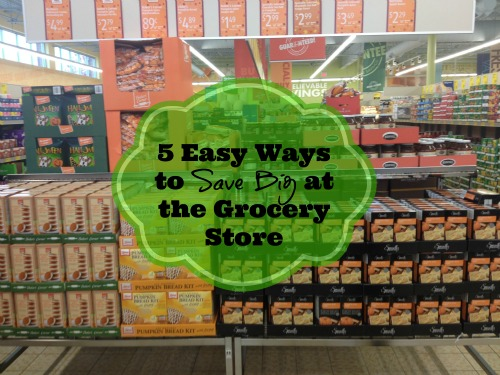 5 Easy Ways to Save Big at the Grocery Store 5 Ways You Can Save Money on Grocery Shopping