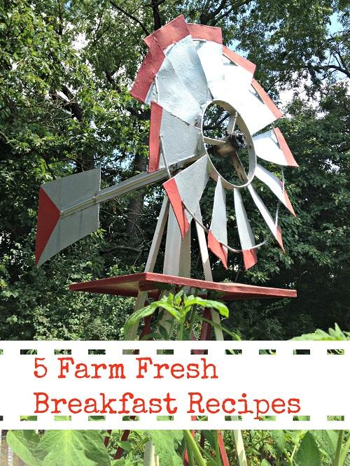 5 Farm Fresh Breakfast Recipes