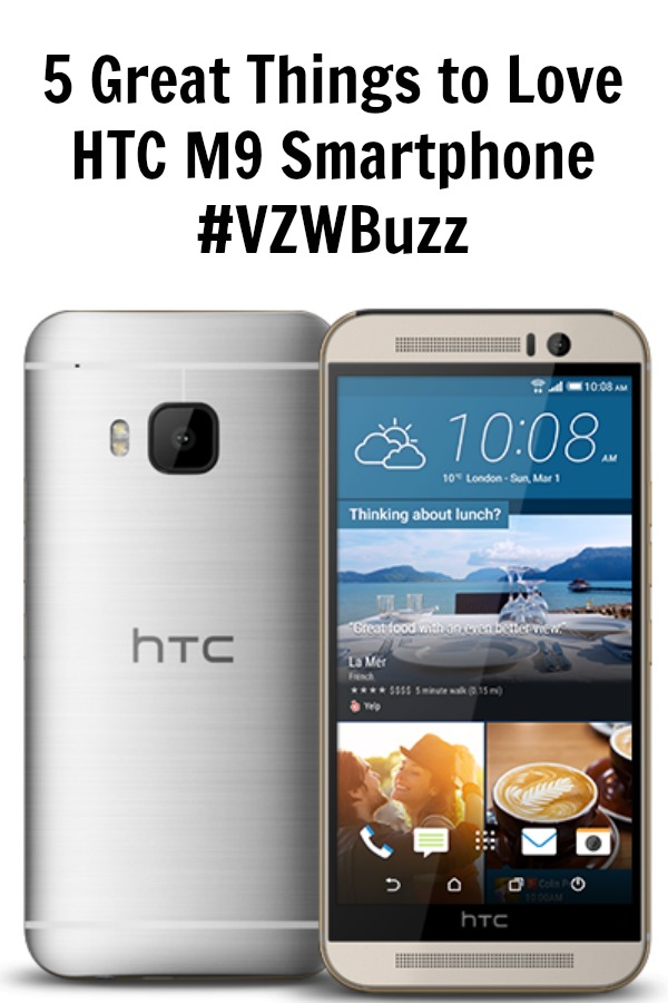 5 Great Things to Love About the HTC M9 Smartphone
