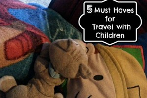 {Traveling With Children} 5 Must Haves for Travel With Children