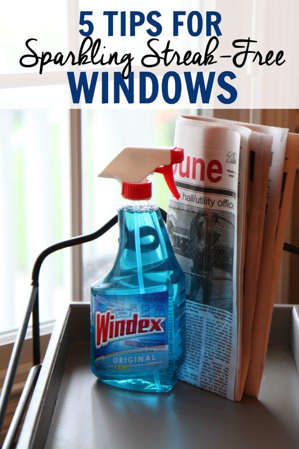 5 Tips for Sparkling Streak-Free Windows