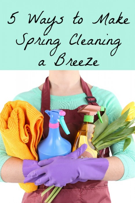 5 Ways to Make Spring Cleaning a Breeze