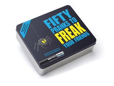 50 Pranks to Freak Your Friends Reeves International Toy Holiday Giveaway | #WinGiveaways