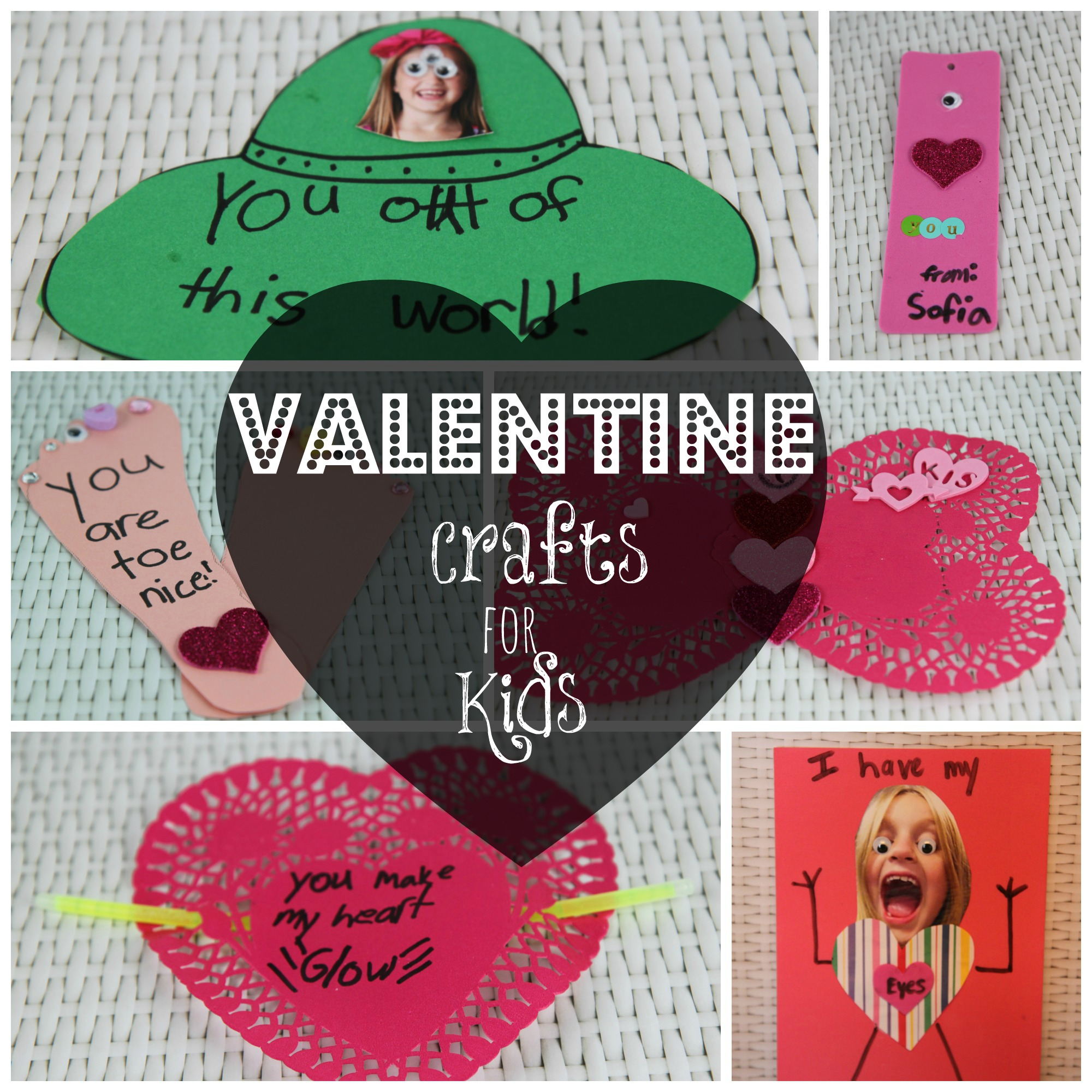 6 Easy Dollar Store Valentine Crafts for Kids