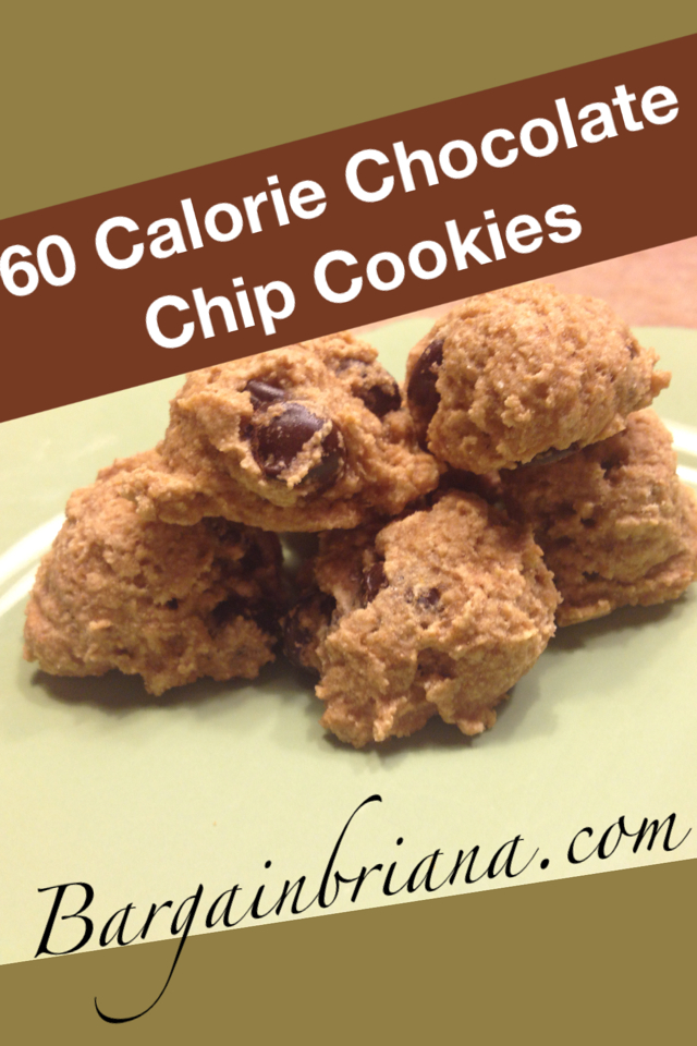 60 Calorie Chocolate Chip Cookies