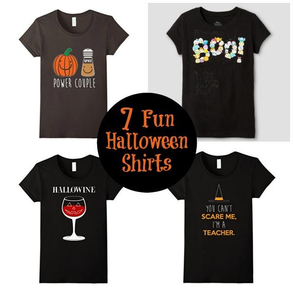 7 Fun and Festive Halloween Shirts - BargainBriana
