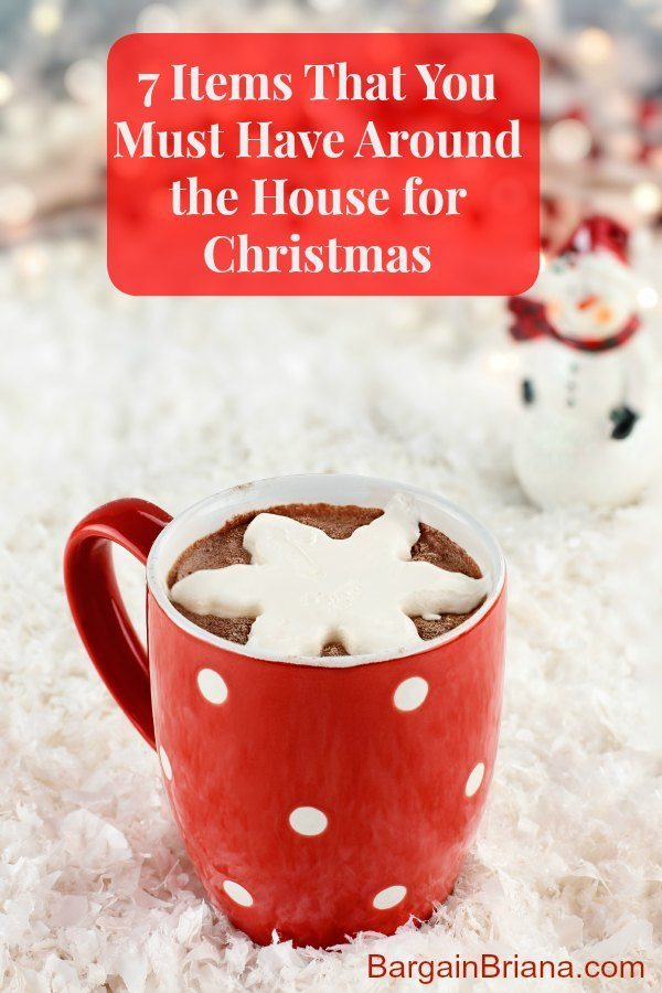 7 Items That You Simply Must Have Around the House for Christmas