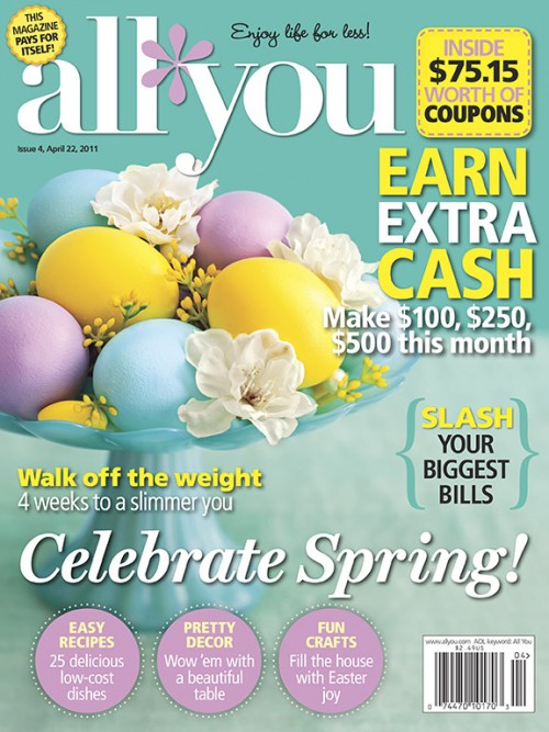 ALL YOU April Cover