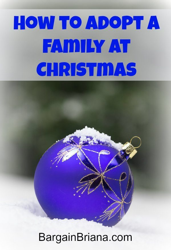 Adopt a Family at Christmas