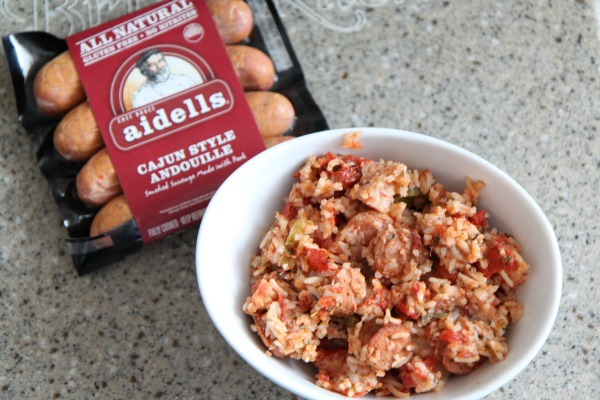 Aidells Cajun - Easy Jambalaya Recipe