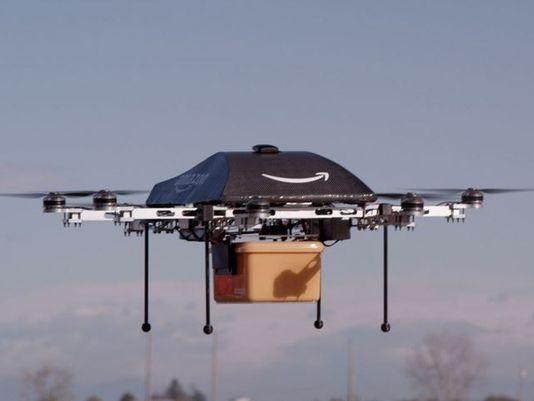 Amazon Drone Testing