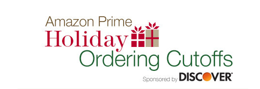 Amazon Holiday Shipping Schedule