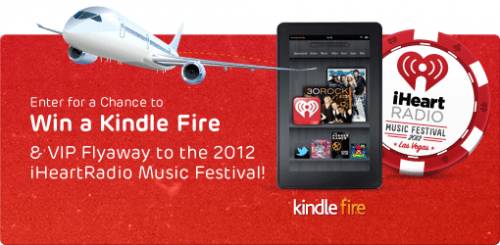 Amazon: Win a Kindle Fire (Facebook) #Sweepstakes