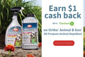 Ortho® Animal B Gon® Animal Repellent at Walmart Deal