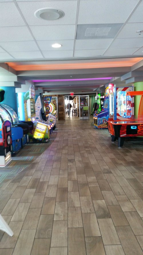 Arcade at Crown Reef