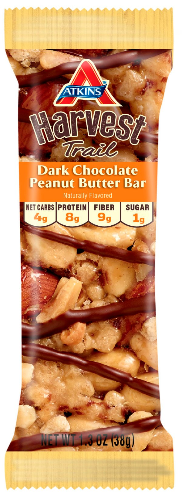 Atkins Harvest Dark Chocolate Peanut Butter Bar