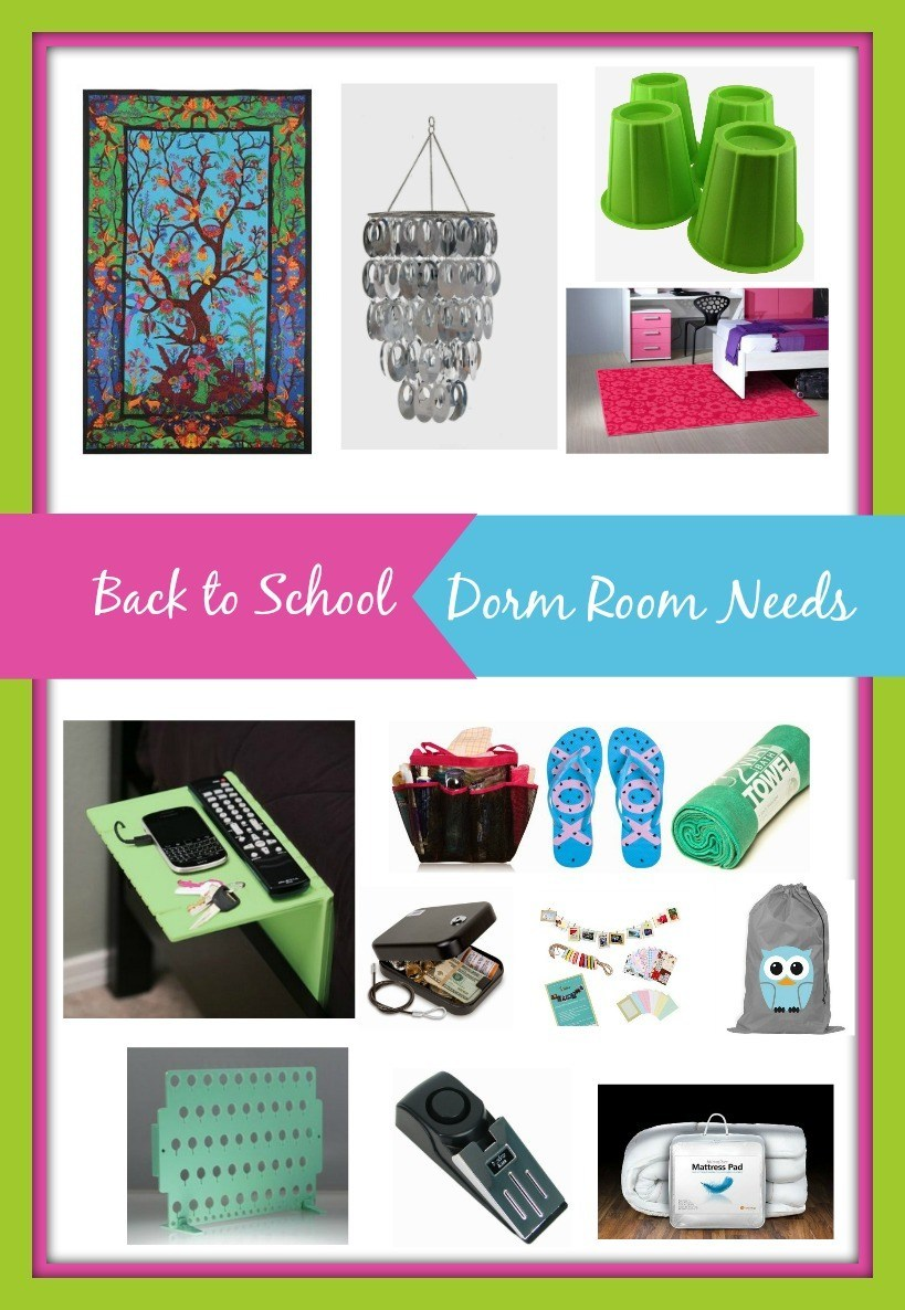 Back to School Dorm Room Must Haves